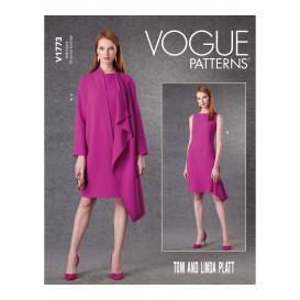 patron veste et robe Vogue V1773