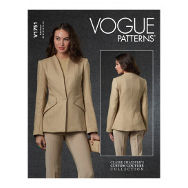 patron veste ajustée Vogue V1751
