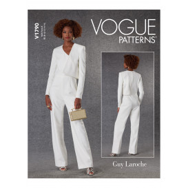 patron combinaison Vogue V1790