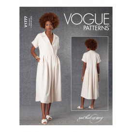 patron robe ample Vogue V1777