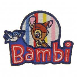 écusson disney bambi oeiseau thermocollant
