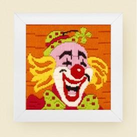 kit canevas enfant clown
