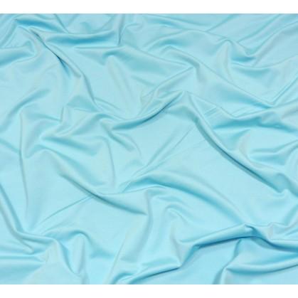 coupon 5,20m lycra léger bleu clair
