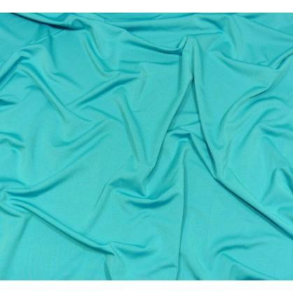 coupon 5,20m lycra léger turquoise