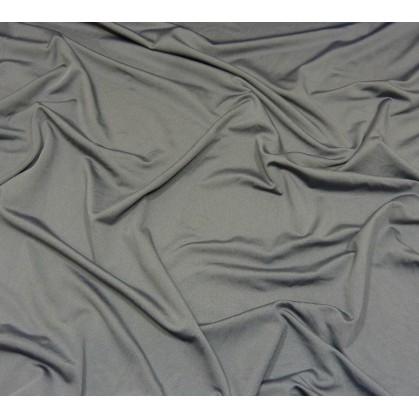 coupon 2,60m lycra léger gris foncé