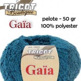 pelote de fil à tricoter Gaïa (10 coloris)