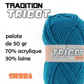 4 pelotes de laine tricot sierra