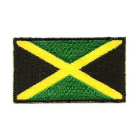 écusson drapeau jamaïcain