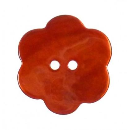 bouton nacre fleur