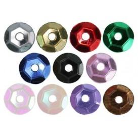 paillettes 5mm  5gr assortiment