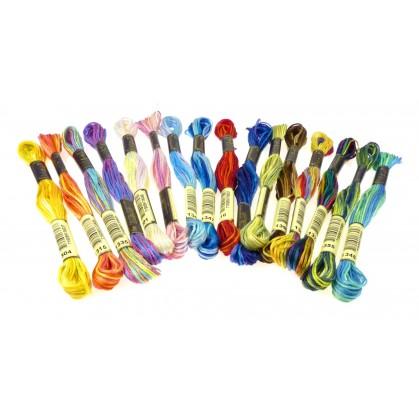 fils à broder anchor mouliné multicolor