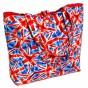 sac tricot ou plage drapeau anglais