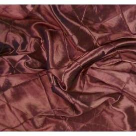 tissu taffeta bordeaux à carreaux largeur 145cm au mètre